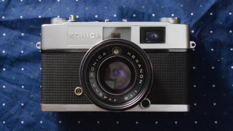 Konica Auto S2: Heavy, Impressive and, Worthy