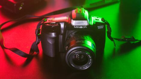 Minolta Maxxum 300si: I really had high hopes for this one