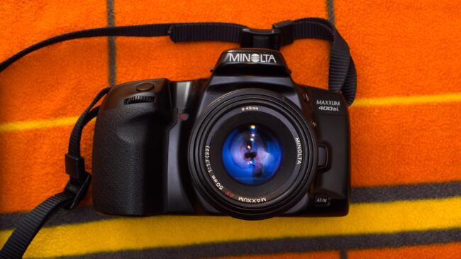 Minolta Maxxum 400si: Much better than I expected