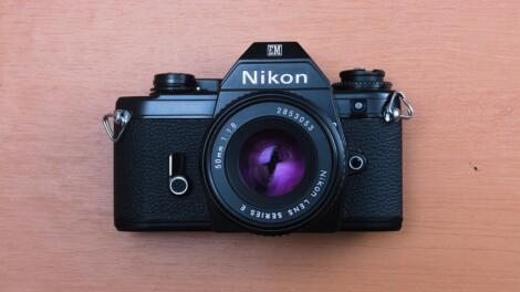 Nikon EM: Just cute, simple and friendly