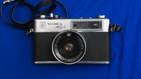 The Yashica MG-1: My very first rangefinder