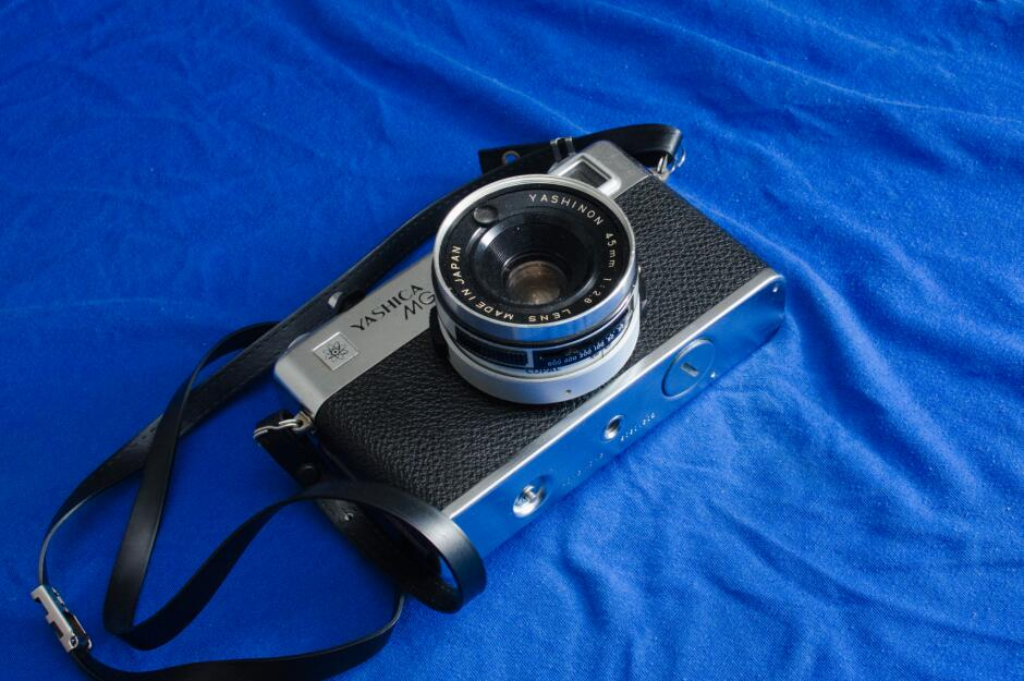 A profile of the Yashica-MG1